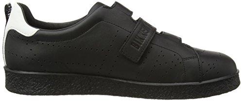 BIKKEMBERGS Best 460 L.shoe M Leather Herren Sneaker Schwarz (Black)