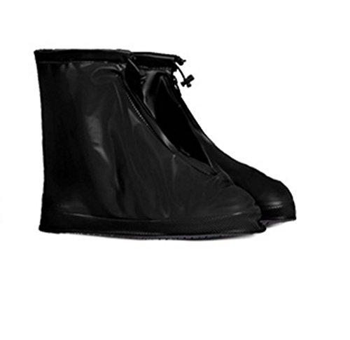 Standard-Regenstiefel Regendichter, Wasserdichter Schneeschuh-Überzug Erwachsene Männer Und Frauen,D,XXL