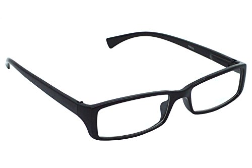 Red Knot Black Power Rectangular Reading Glasses For Men & Women (+1.00 Ds) O8825-Blk-1.00  available at amazon for Rs.237