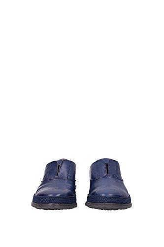XXM0TV0J980RUSU803 Tod's Pantoufle Homme Cuir Bleu Bleu