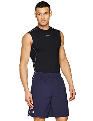 Under Armour Herren Hg Armour SL Fitness Tank Top ,Schwarz(Schwarz (001)),L