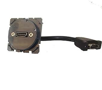 prise audio/vidéo hdmi type a pré-connectorisé legrand céliane