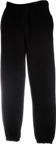 JOGGINGHOSE ELAST BUND FRUIT OF THE LOOM S M L XL XXL XL,Black -
