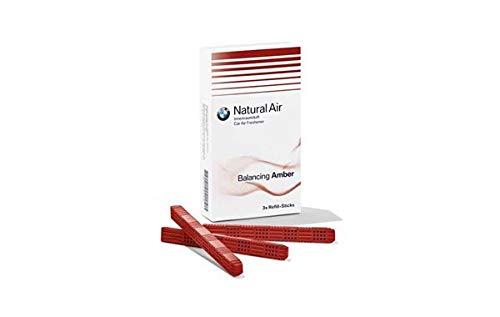 Kit de relleno Natural Air Balancing Amber, original de BMW, ambientador para el coche (83122285676)