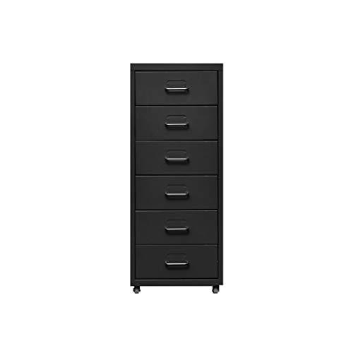 Armadi archivio file cabinet, desktop estendibile organizzatore di cassetti per ufficio (piastra in acciaio) 28 * 41 * 69cm (colore : d)