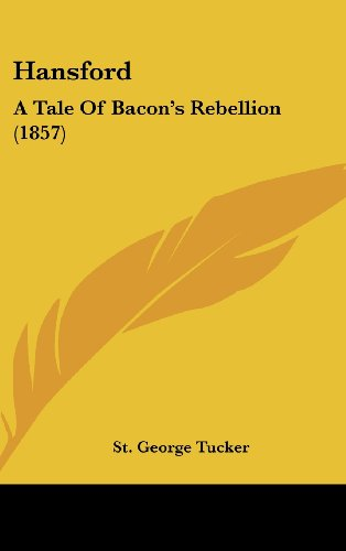 Hansford: A Tale Of Bacon's Rebellion (1857)