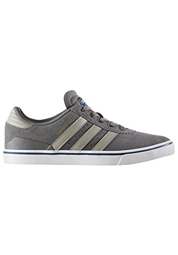 adidas Herren Busenitz Vulc ADV Skateboardschuhe, Grau (Granit/Sesamo/Ftwbla), 42 2/3 EU (Skateboard Turnschuhe Herren Skate-schuhe)