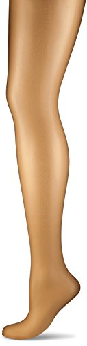 Wolford Damen Strumpfhose Luxe 9 Tights, 10 Den, Braun (Bronze 4255), X-Large (Strumpfhosen Toe Sandal)