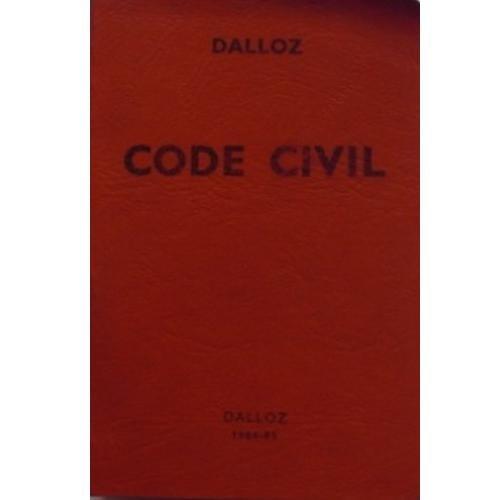 Code civil : 1984-1985 Dalloz