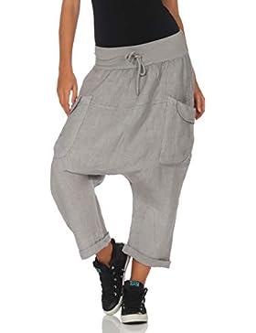 Malito Mujer Harem Pantalones Li