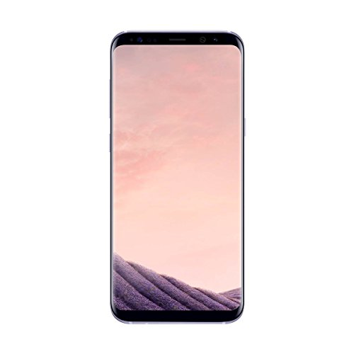 """Samsung Galaxy S8 Plus - Smartphone libre de 6.2"""" QHD+ (4 G, Bluetooth, Octa-Core S, 64 GB memoria interna, 4 GB RAM, camara de 12 MP, Android), Gris orquídea, - [Versión española]"""