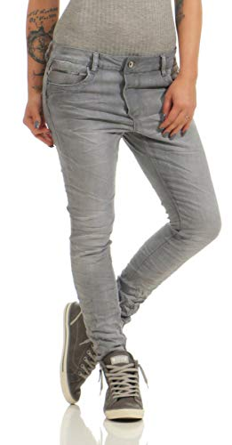 Lexxury 4325 Damen Jeans Röhrenjeans Hose Boyfriend Style Damenjeans...