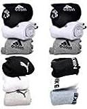 #9: Socks Branded Men/ Women Premium Athletic Ankle Length Socks Set Of 12 Pairs.