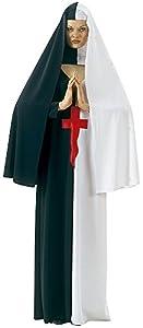 Haunted House - Disfraz de madre superiora maldita, para adultos, talla única (Rubie