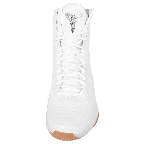 Kobe X Elite Ext Qs, bianco / argento metallizzato, 8.5 M Us White/Metallic Silver