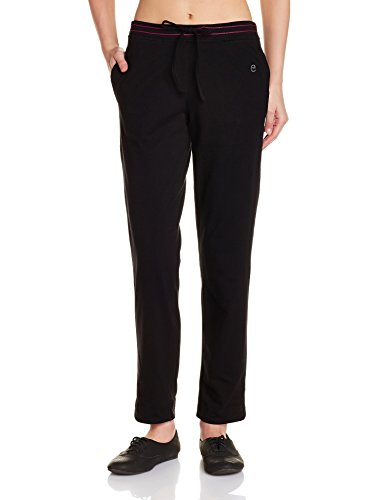 Enamor Women's Cotton Pyjama Bottoms (Enamor Women's Cotton Pyjama Bottoms (E014_Black_Medium)