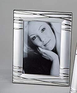 Fotorahmen 10x15cm Serie Silber Linien Nr. 652911