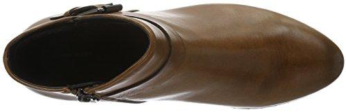 Gerry Weber Caren 07, Bottes Classics courtes, non doublées femme Marron - Braun (cognac 378)