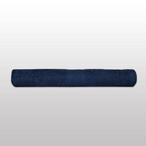 Klassisches Frottier-Set - Qualität 500 g/m² - alle Größen und Farben - 100% Baumwolle - 4 Set Varianten - 10er Pack Seiftücher (30 x 30 cm) - navy / marine / dunkelblau