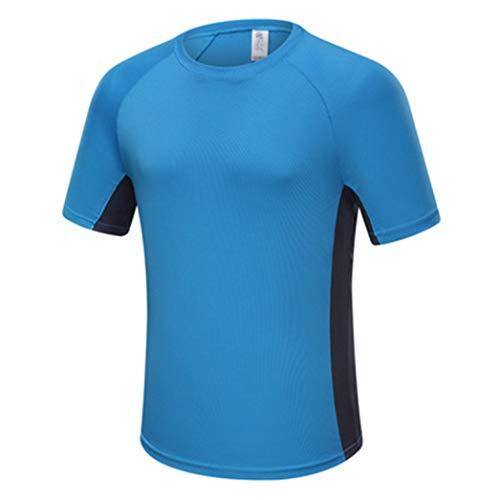 Männer Sommer Laufen Shirts Basketball Training Top Fitness Workout Sportbekleidung Plus Size -