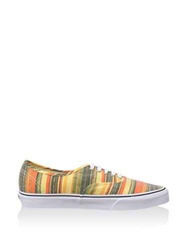 Vans Authentic, Baskets Basses Mixte Adulte Multicolore - Multicolore