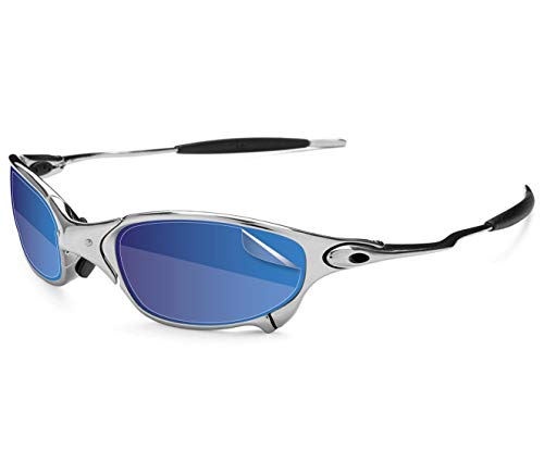 RIPCLEAR Sunglass Protectors for Oakley Juliet Sunglasses - Scratch Proof Crystal Clear - 2 pack Lens Protectors