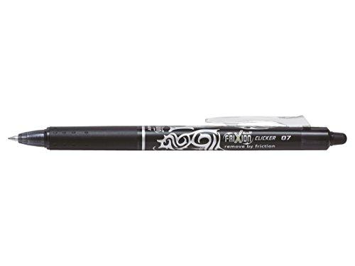 ^ Pilot Pen – Penna roller a scatto FriXion Clicker a inchiostro gel cancellabile, impugnatura gommata, confezione da 3 pezzi (nero, blu, rosso) prezzo