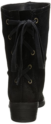 Nine West Krasher Cuir Bottine Black