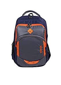 Wisdom 36 Litre Laptop Casual Backpack - Navy Blue and Grey