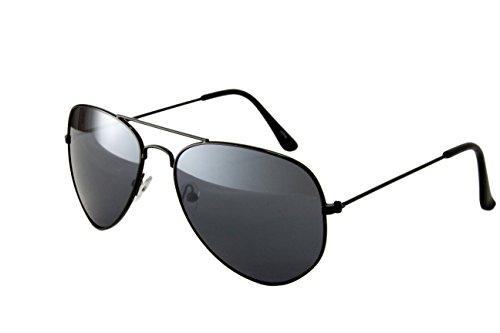 Ciffre-UV®400 Pilotenbrille Fliegerbrille Sonnenbrille Brille Top Design Schwarz