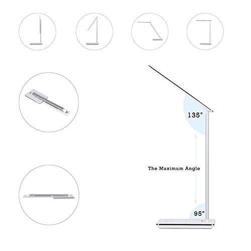 Tsing Coque de Charge Sans Fil Coque Pour iPhone 6/6Plus Battery Case pour iPhone 6/6plus Récepteur de Chargeur Sans Fil (IPHONE6, Argent) Blanc