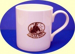Bone China Mug with Uncle Roy&#39s logo