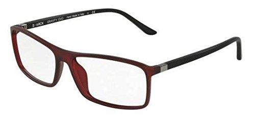 Preisvergleich Produktbild STARCK Eyes Brillen 0SH3031 MATTE RED Herrenbrillen