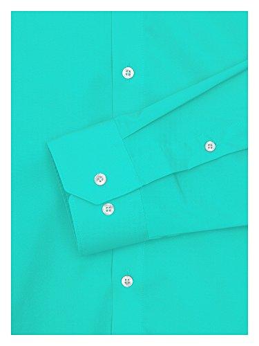 REDMOND 4 limited Uomini Camicia Slim Fit Turchese