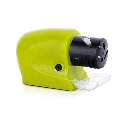 Kitchen Electric Knife Sharpener Grinder Professional Multifunctional  Automatic Whetstone Diamond Sharpening Stone Grindstone,Green Diamond Electric Sharpener