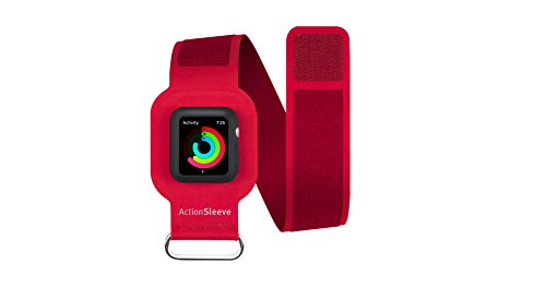 twelve-south-actionsleeve-brazalete-de-neopreno-para-apple-watch-de-42-mm-color-rojo