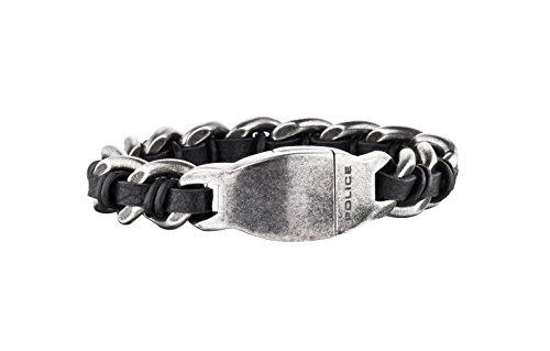 POLICE Herren-Armband SHOCK Edelstahl 22.5 cm - PJ25600BSE-01-L