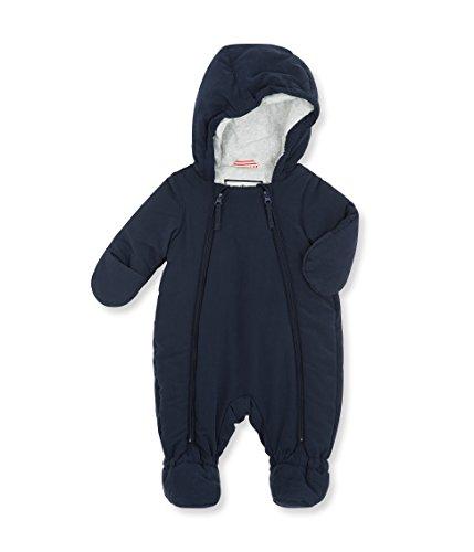 Petit Bateau Unisex Baby Schneeanzug Combinais Pilote, Blau _3(ABYSSE 13), 3 Jahre (Baumwolle Petite Nylon)