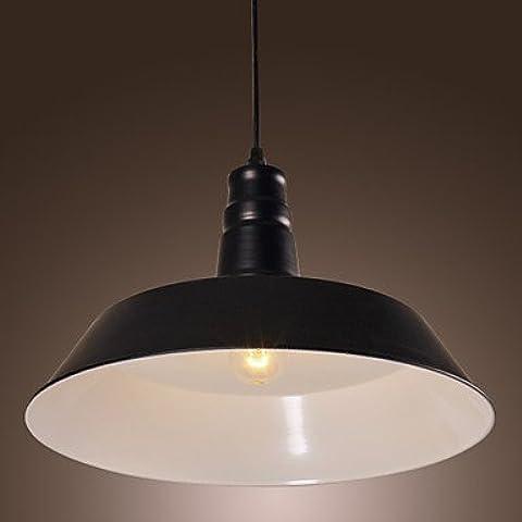 LYNDM-Miglior regalo di Natale, LightsStyle pendente tradizionale/Classic/retrò ciotola/soggiorno/sala da pranzo/camera/cucina/Voce ,