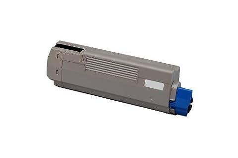 Kompatible Eurotone Toner in Schwarz für Oki C610 CDN/ C610 DN/ C610 DTN/ C610 N - ersetzt original Kassette Black