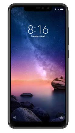 Redmi Note 6 Pro (Black, 64 GB) (4 GB RAM) (Black)