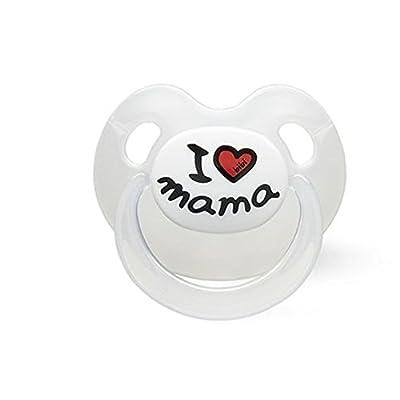 bibi 112351 Classic baby pacifier Silicona Color blanco – Chupete