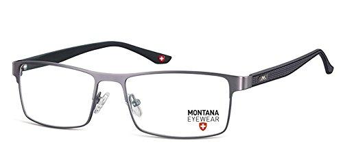 Montana -  Montatura  - Uomo nero Stainless Steel - MATT FISHING schwarz