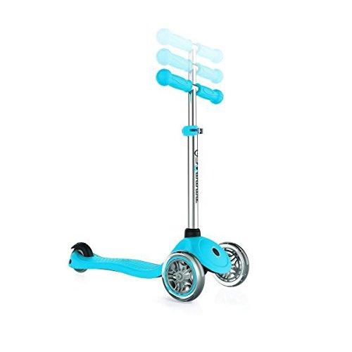 Globber Primo Trottinette 3 Roues Mixte Enfant, Bleu Ciel