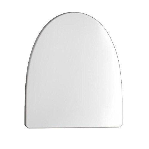 NAN WC-Deckel V-Typ-Abstieg Deckel Armaturen Universal-Verdickung Toiletten pumpt WC-Abdeckung Harnstoff-Formaldehyd-Harz keine gelbe Verfärbung ( größe : 44*35cm )
