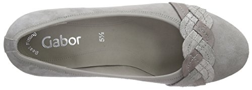 Gabor Shoes 45.487, Scarpe col Tacco Donna Multicolore (13 visone/torba/fango)