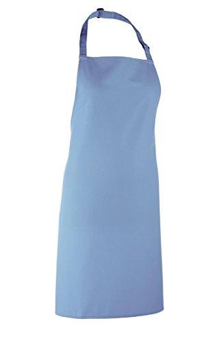 Premier PR150 Colours Bib Apron - Mid Blue - One Size -