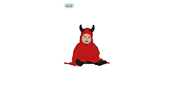 Baby Teufel Kostum Fur Kinder Karneval Fasching Devil Rot Umhang