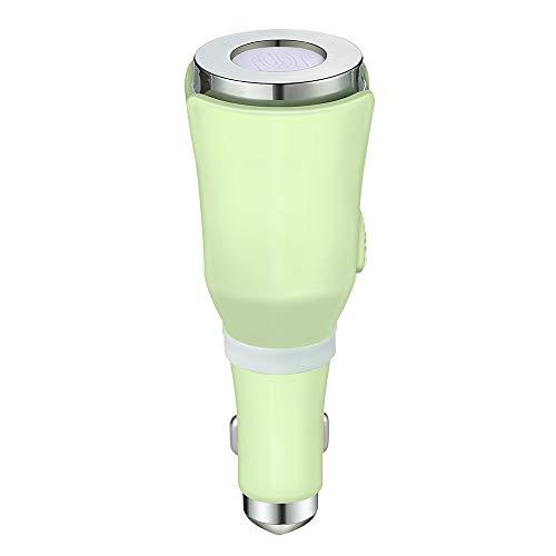 CN&Q Mini Duft Diffusor Luftbefeuchter USB Auto Aromatherapie Maschine Geruchsbeseitigung Luftreinigung,Green