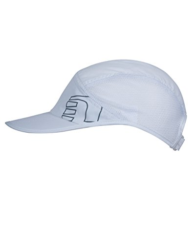 Newline Running Cap - Gorra, color blanco, talla L